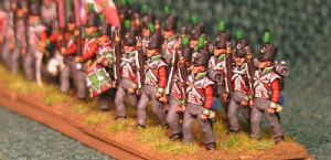 15mm, Napoleonic British 51st Light Infantry AB 24 Figures